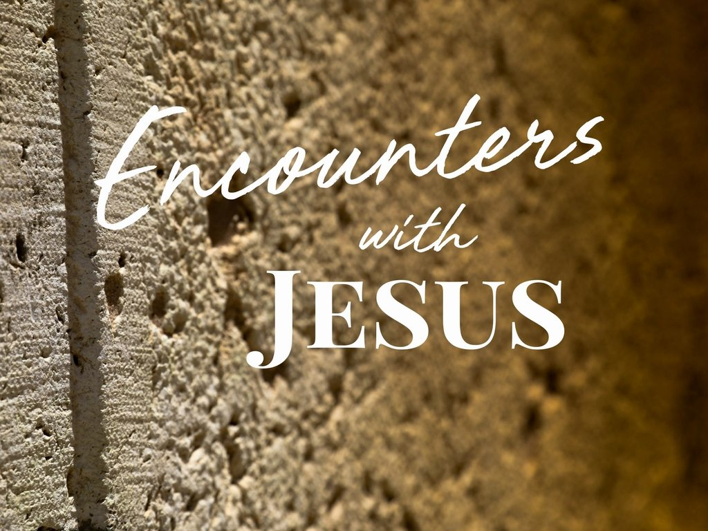 Encounters with Jesus Sermon Series at South Spring Baptist Church in Tyler TX