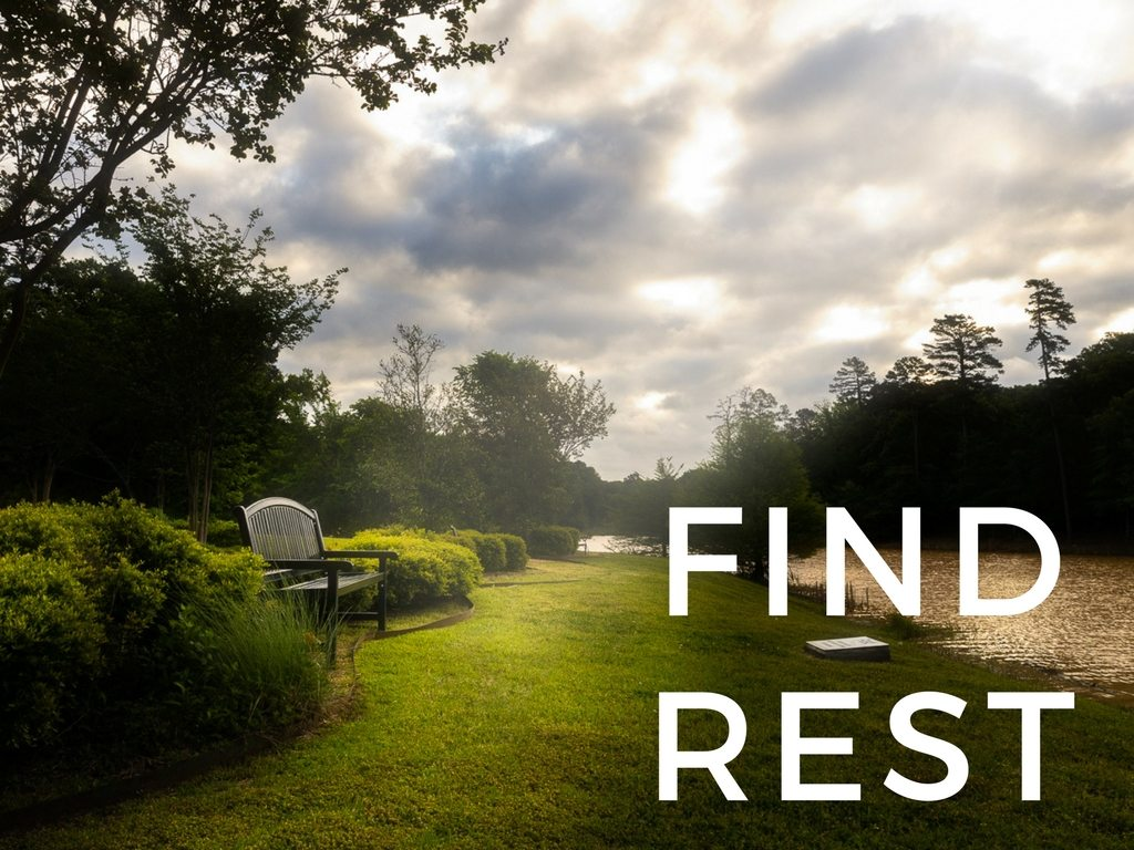 Find Rest Sermon Series at South Spring Baptist Church in Tyler TX