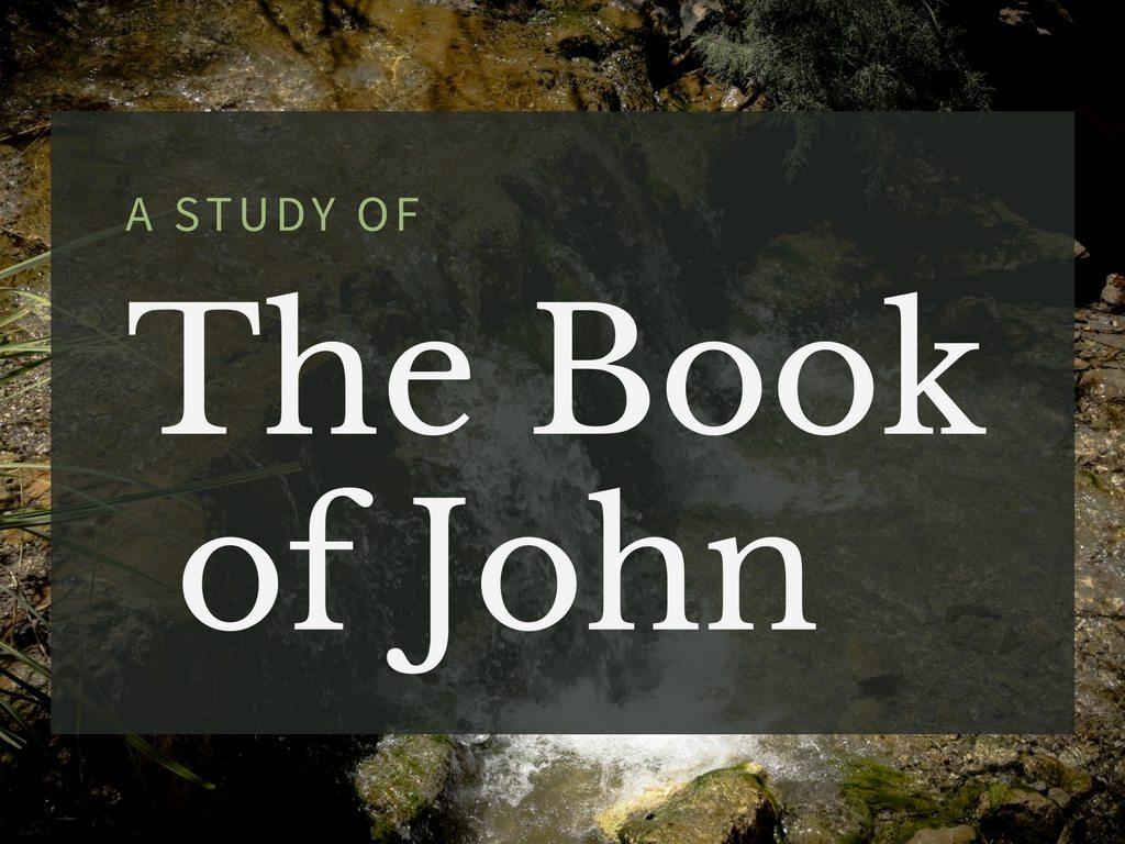 The Book of John Sermon Series at South Spring Baptist Church in Tyler TX