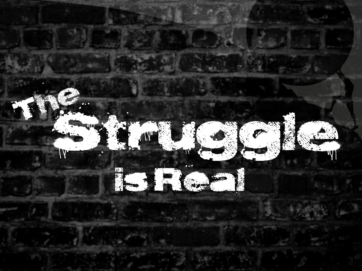 The Struggle is Real Sermon Series at South Spring Baptist Church in Tyler TX