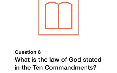 Question 8 (New City Catechism)