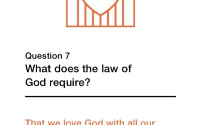 Question 7 (New City Catechism)