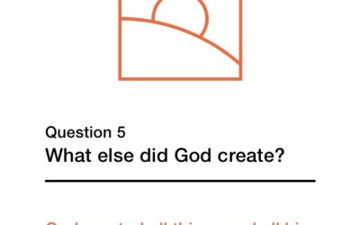 Question 5 (New City Catechism)