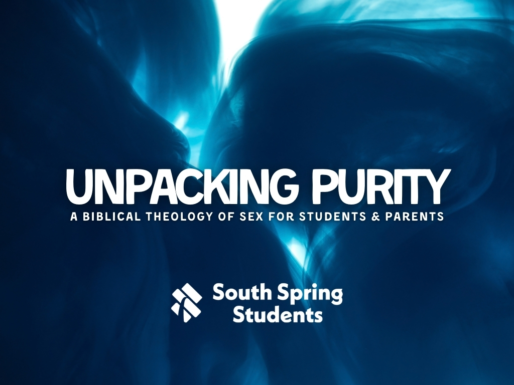 Unpacking Purity Sessions Teaching at South Spring Baptist Church in Tyler TX